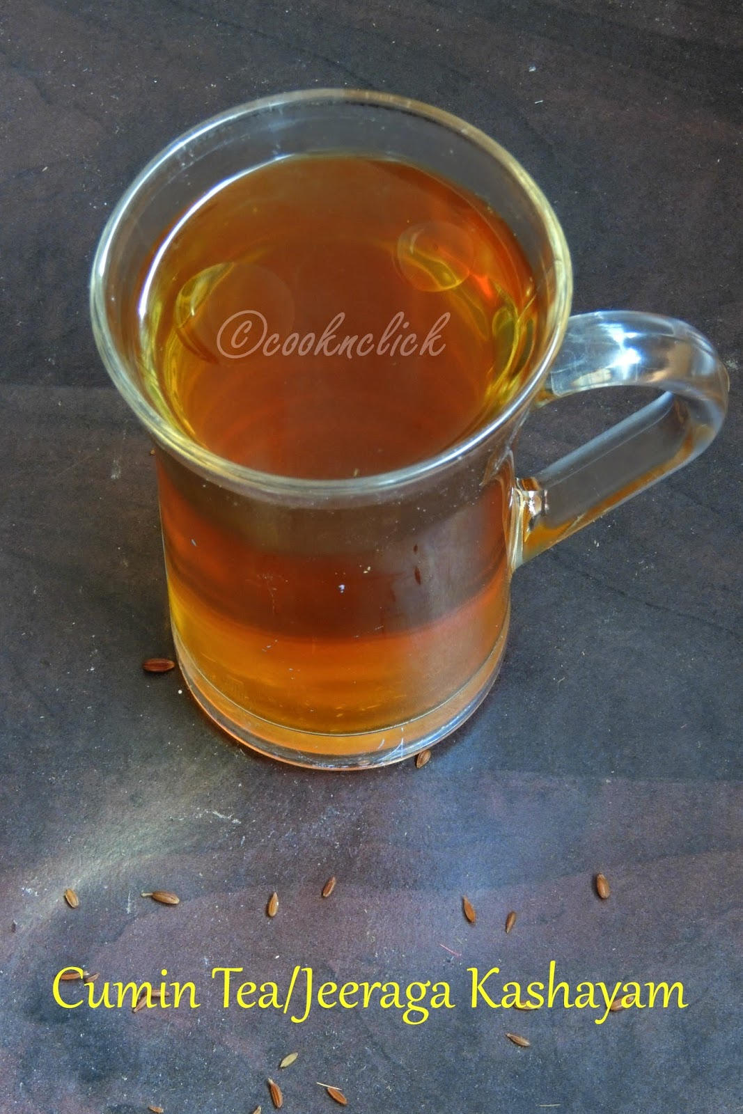 Jeerage tea, Jeeraga kashayam, cumin tea