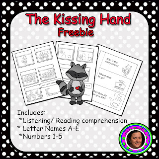Kissing Hand Freebie