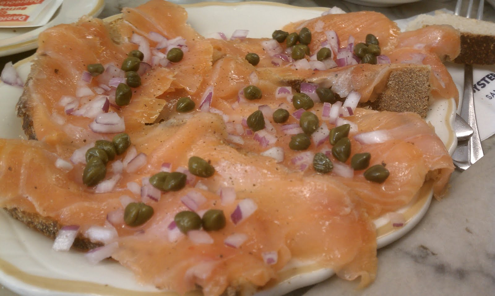 The Savory Hunter San Francisco Smoked Salmon At The