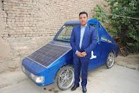 elektrikli Afgan otomobili yola çıkıyor