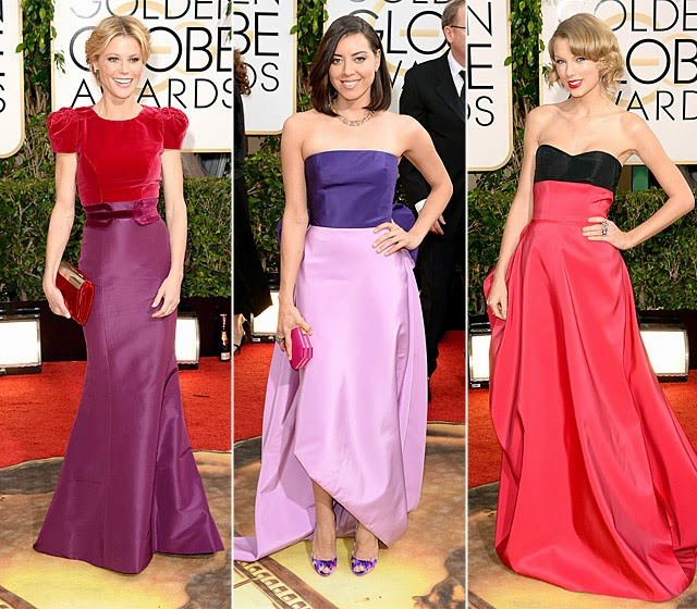 Color Blocking Red Carpet Fashion Trend