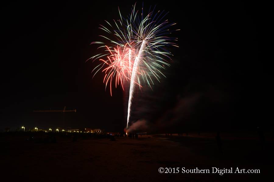 Carolina Beach Fireworks New Years Eve