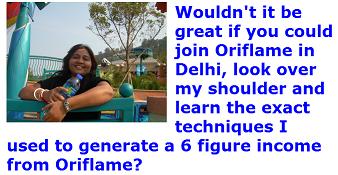 Join Oriflame in Delhi