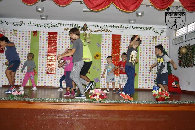 kids training niños