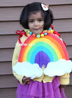 http://www.smilingcolors.com/2015/10/how-to-make-a-rainbow-costume-no-sew-video/