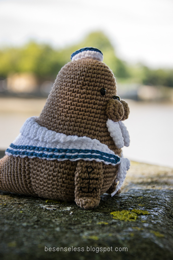 Amigurumi Walrus : Airali design. Where is the Wonderland? Crochet, knit and ...