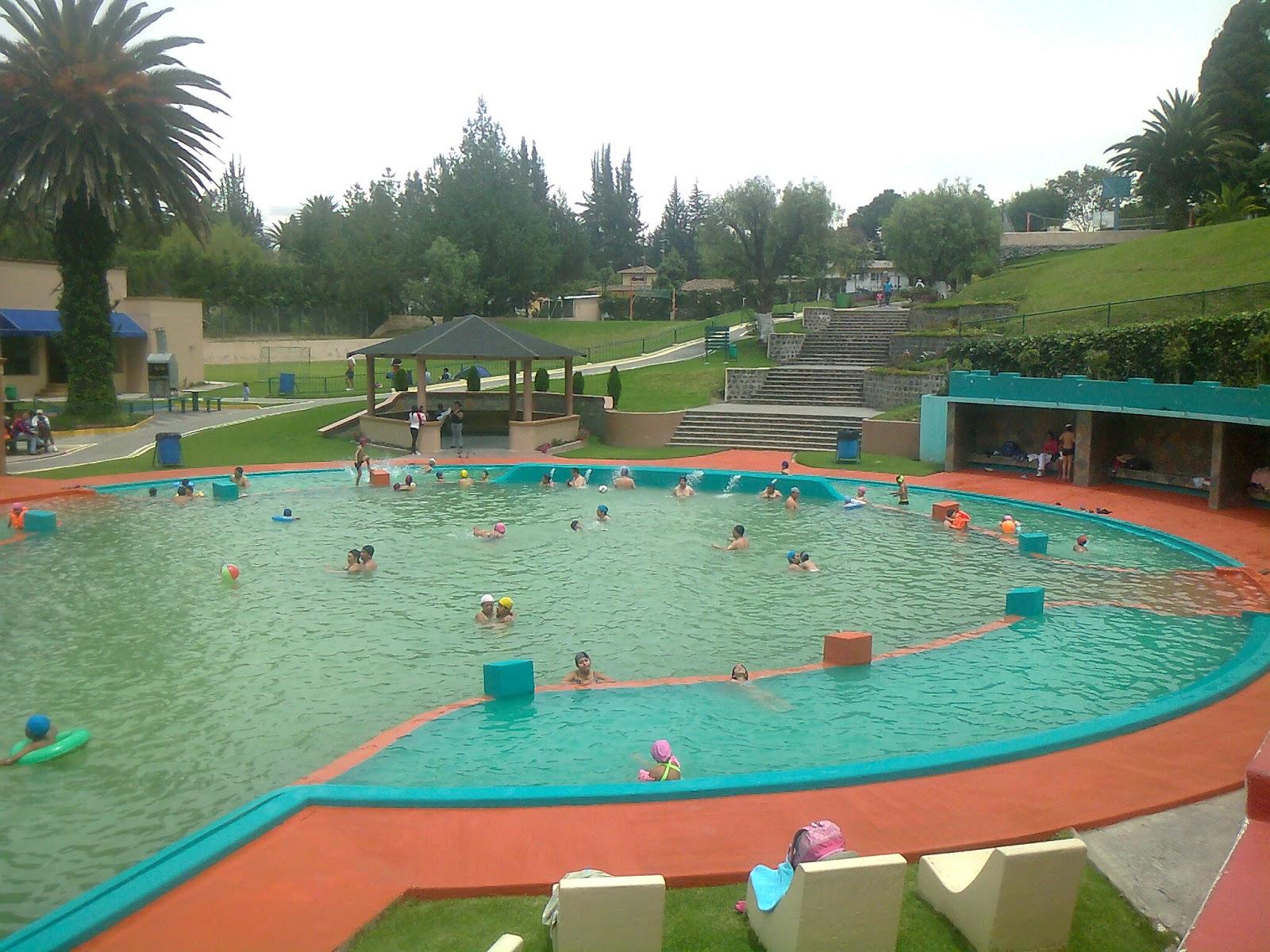 Parque piscina La Merced Pichincha Ecuador