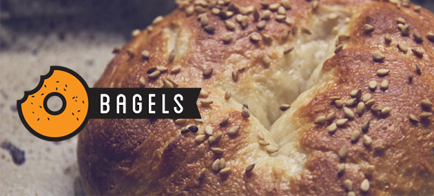 receta bagels