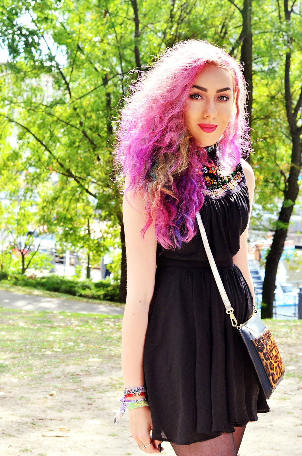 pastel hair blogger stephi lareine