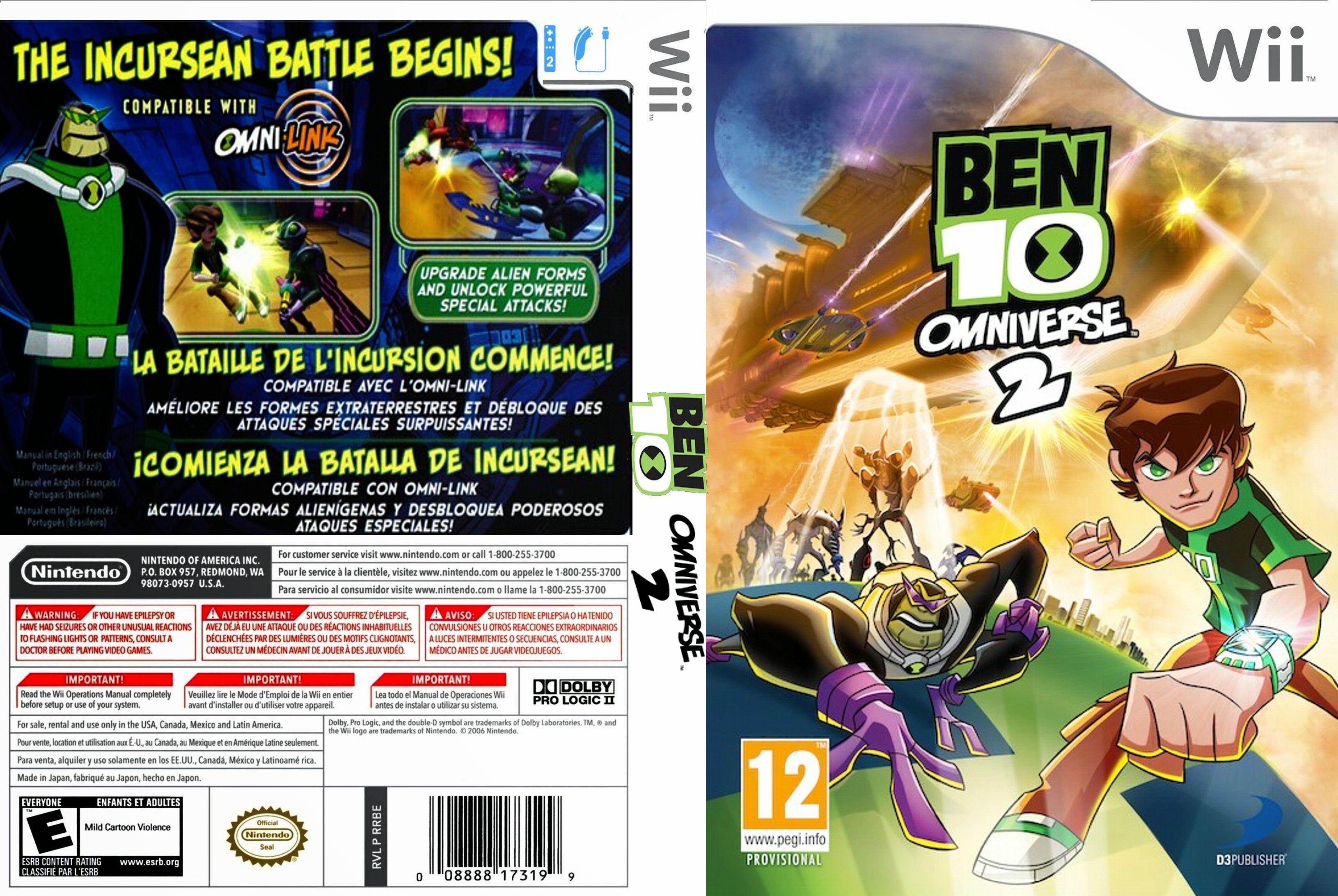 ben 10 omniverse 2 psp game free download