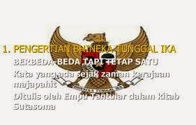 arti dari bhineka dan tunggal ika di indonesia