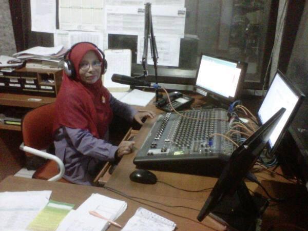 Siaran di Radio Cinde 101,3 FM Indramayu