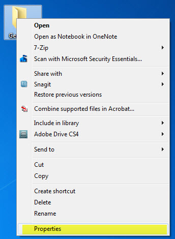 how to create a folder on your desktop