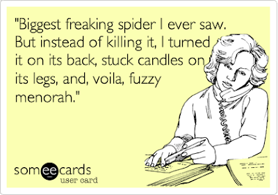 spider menorah
