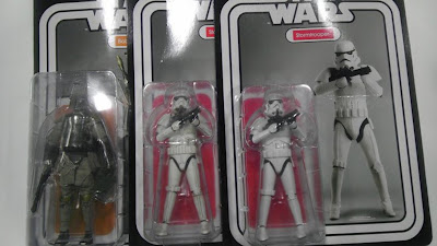 ThreeA Toys' 6 inch Star Wars figures Super Articulated Fully Detailed Complete with Vintage Style Packaging