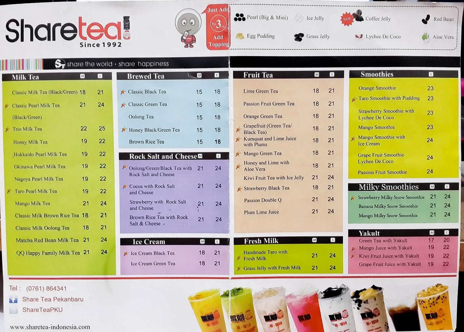 asiknya berbagi pku - @tempatmakanpekanbaru: [bagian 1] share tea
