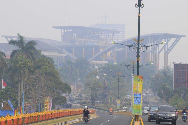 Asap Riau, Kabut asap Riau