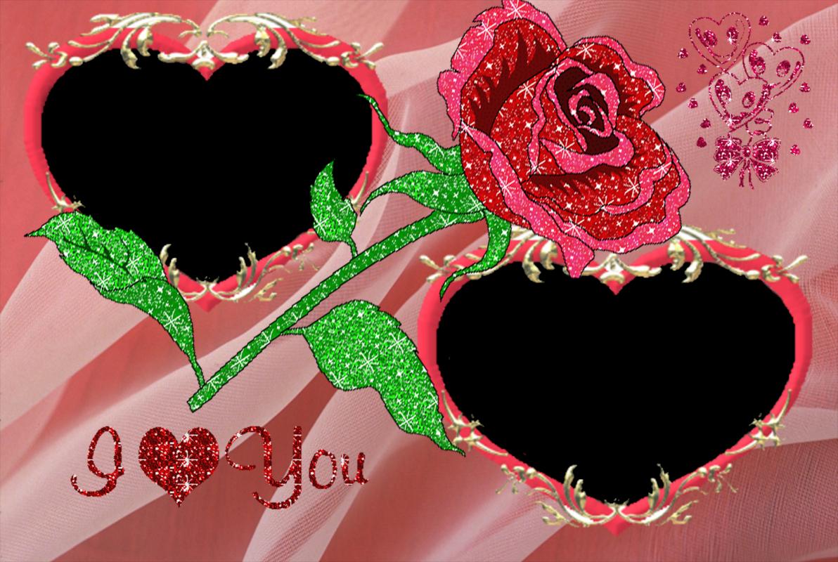 4 Estupendas Plantillas para Fotos de Amor. | Marcos Gratis para ...
