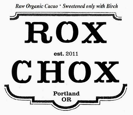 Rox Chox: Delicious Organic Chocolates made with raw Cacao and Sweetened only with Birch.