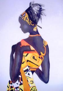 Muneca Africanas Cuadros Modernos
