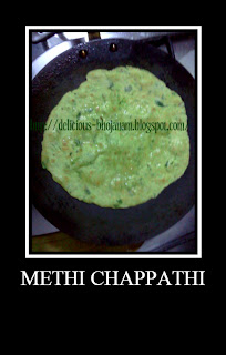 Methi Chappathi