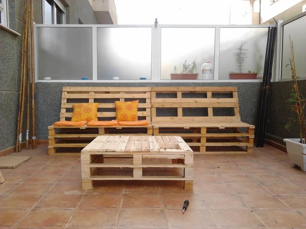 Atelier de la cosette mesa de palets ii - Mesa de palets bricolaje ...