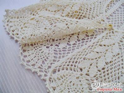 crochet summer lace bolero