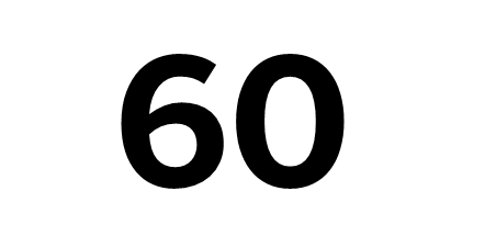 how to work out 60 of a number