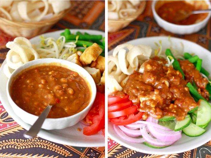 how to make peanut sauce recipe with easy spice paste?