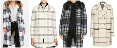 Three of these plaid coats are from Tory Burch for hundreds of dollars and one is from Forever 21 for $63. Can you guess which one is the more affordable coat? Click the links below to see if you are correct!