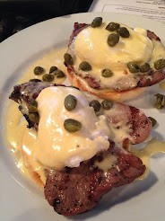 The frankly stunning Steak Eggs Benedict at SoLIta
