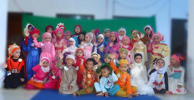 Siswa-siswi TK Indonesia
