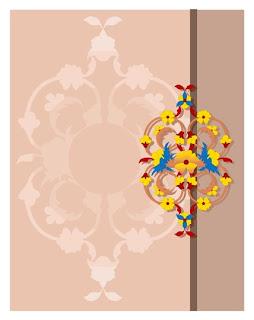 Contoh desain gambar khusus untuk undangan pernikahan ...