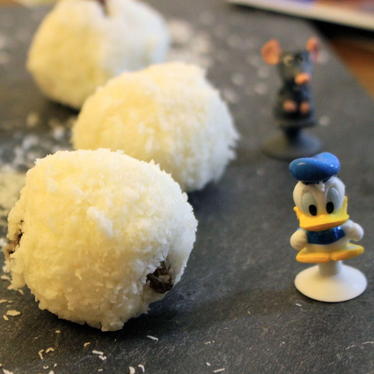 Kokos Schneebälle