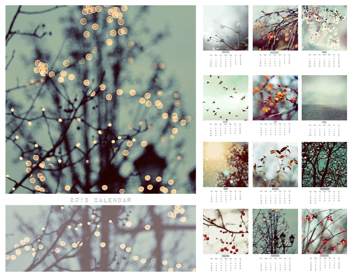 Elle Moss Photography: 2013 Calendars
