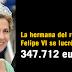 La hermana del rey Felipe VI se lucró con 347.712 euros