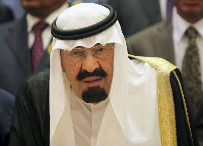 وفاة الملك عبد الله بن عبد العزيز حاكم السعودية