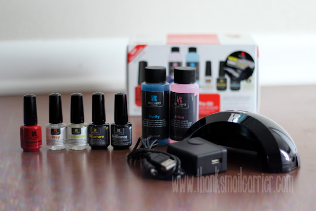 Red Carpet Manicure Pro Kit items