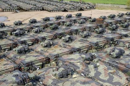 Melihat Pemusnahan Puluhan Ribu Tank di Jerman