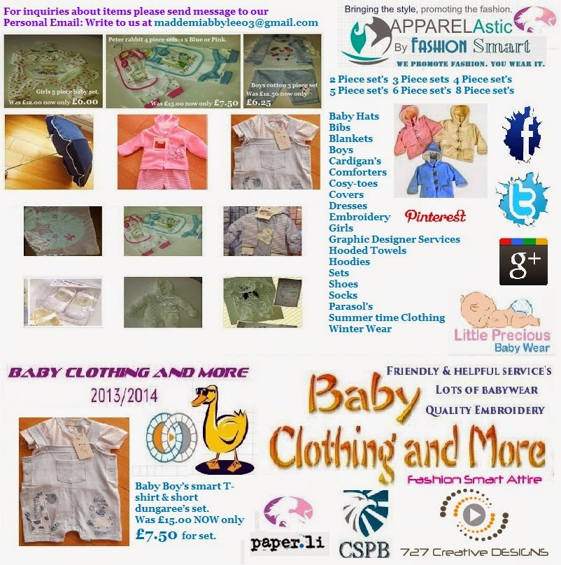 Baby Clothing And More 2013