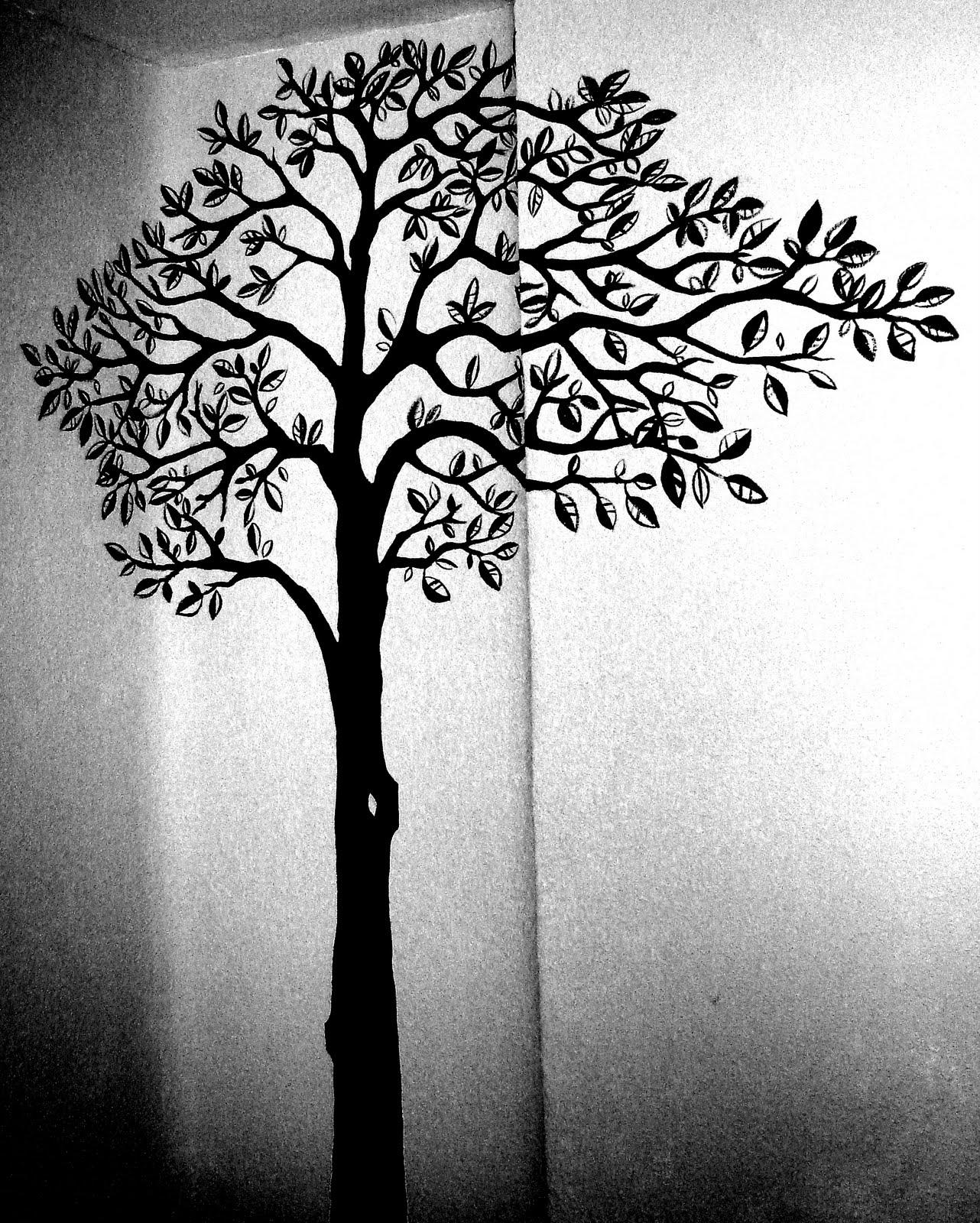 Decoraci n de interiores paredes con empapelado de flores - Dibujos en paredes ...