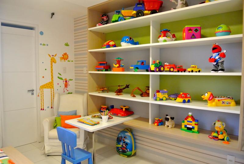 RedLar Espaço Kids – Nichos e prateleiras organização e estilo no quarto da