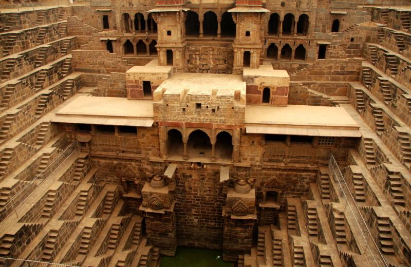 Artchist Baoli Arquitectura Tradicional India