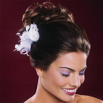 Winter-Hochzeit Frisuren