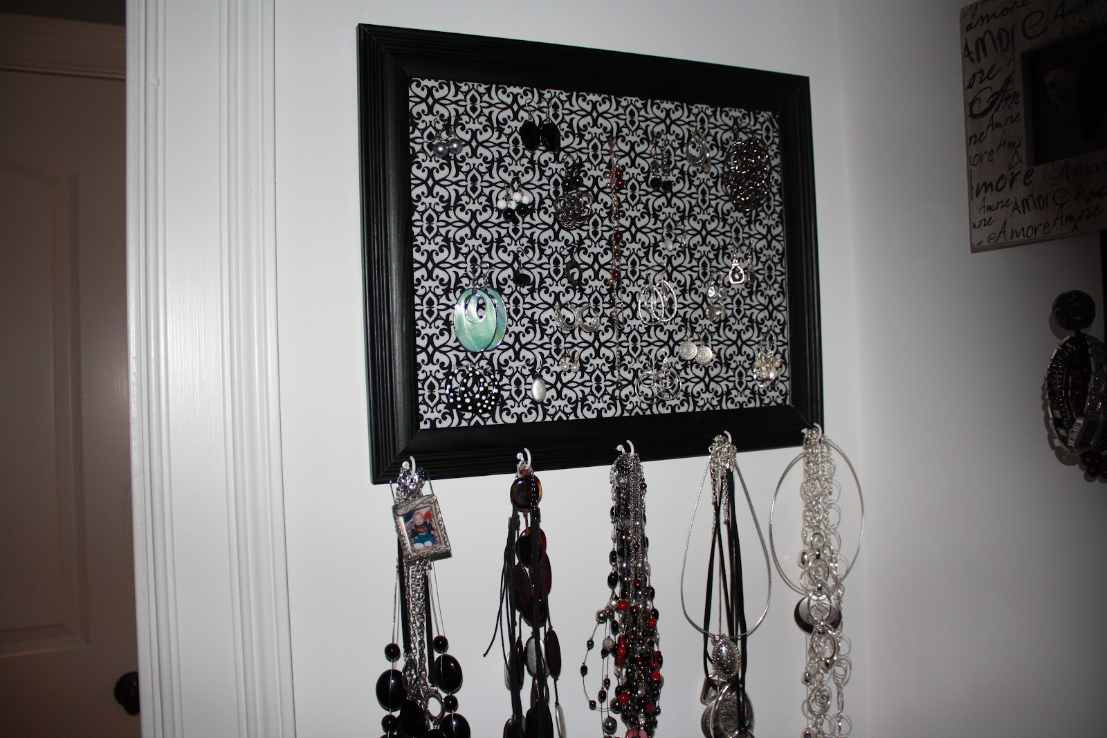 revived formations homemade jewelry holder. Black Bedroom Furniture Sets. Home Design Ideas