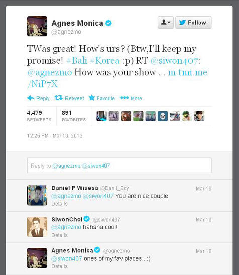twitter agnes monica