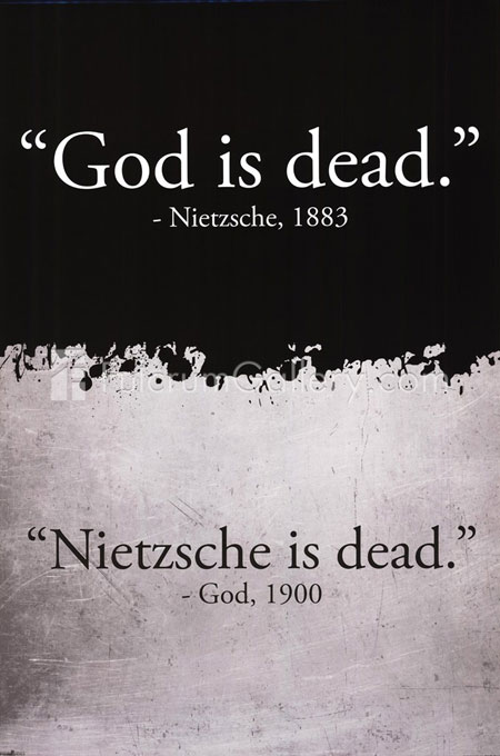 Nietzsche, God, funny pictures, quotes, texts