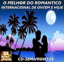 O Melhor do Romântico Internacional de Ontem e Hoje By DJ Sibele Vasconcelos DJ Helder Angelo CD Se