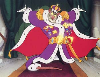 Ratigan The Great Mouse Detective 1986 Vincent Price animatedfilmreviews.filminspector.com
