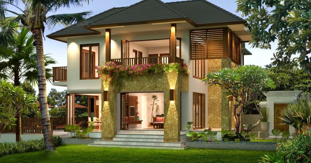 Raja Disain Interior Desain Rumah Minimalis Dua Lantai